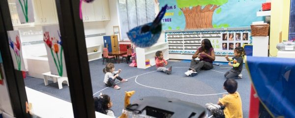 What does preschool look like during a pandemic? Socially distant play, temperature checks and …